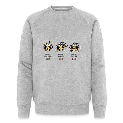 Babyindikator - Männer Bio-Sweatshirt