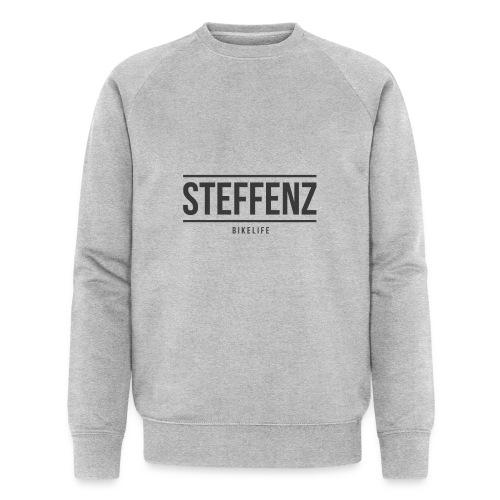 Black on Black - Männer Bio-Sweatshirt von Stanley & Stella