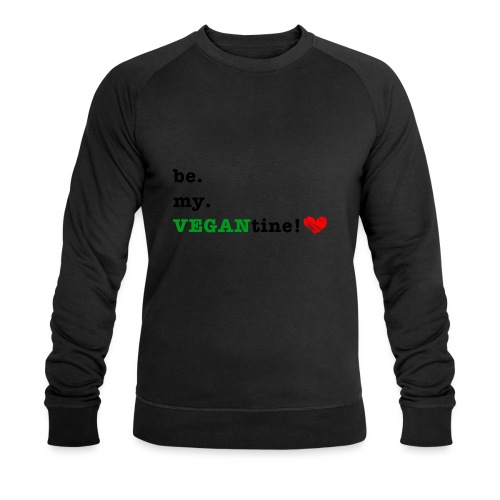 VEGANtine Green - Men's Organic Sweatshirt