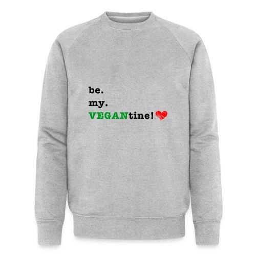 VEGANtine Green - Men's Organic Sweatshirt by Stanley & Stella