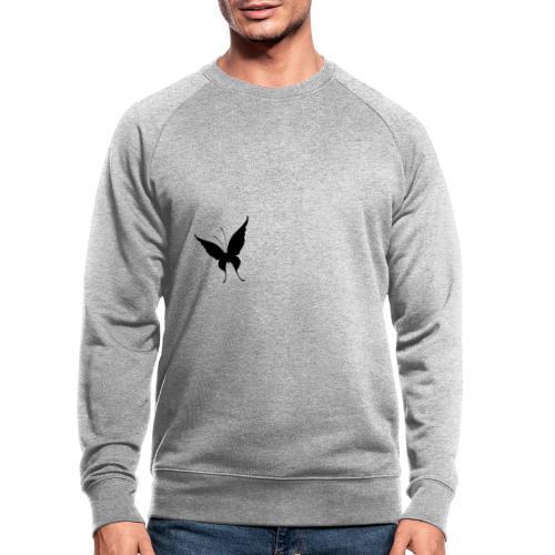 Schmetterling - Männer Bio-Sweatshirt