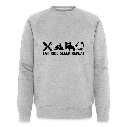Snöskoter (Sled) - Ekologisk sweatshirt herr från Stanley & Stella