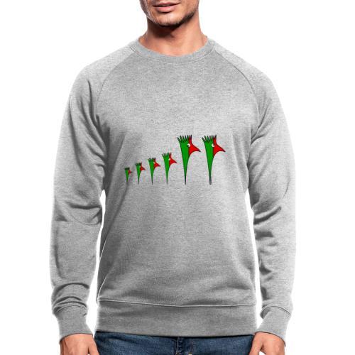 Galoloco - Família 4 - Männer Bio-Sweatshirt