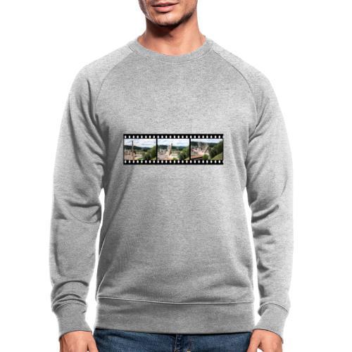WanderKaminFall - Männer Bio-Sweatshirt