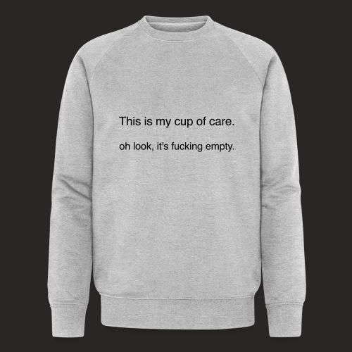 cup of care - Männer Bio-Sweatshirt von Stanley & Stella
