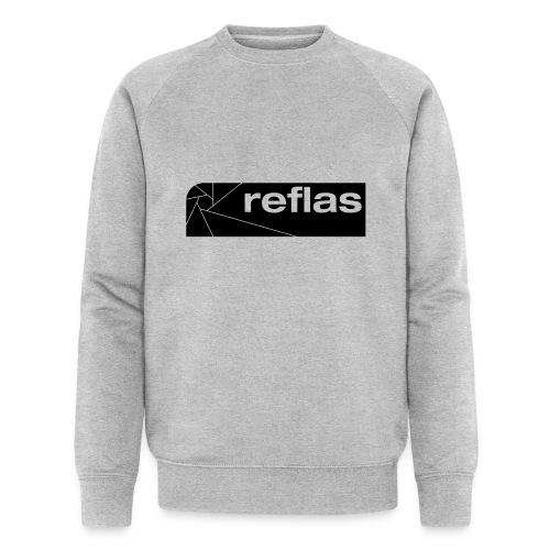 Reflas Clothing Black/Gray - Felpa ecologica da uomo
