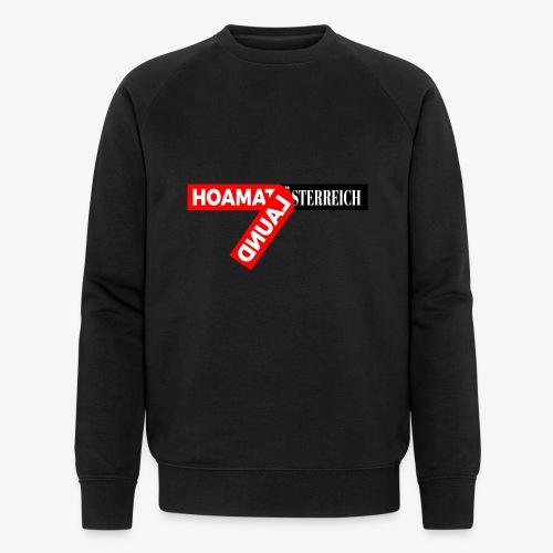 hoamatlaund tagloose und Österreich - Männer Bio-Sweatshirt