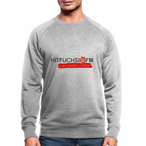 HitFuchs logo + slogan - Men's Organic Sweatshirt