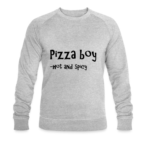 Pizza boy - Økologisk sweatshirt for menn fra Stanley & Stella