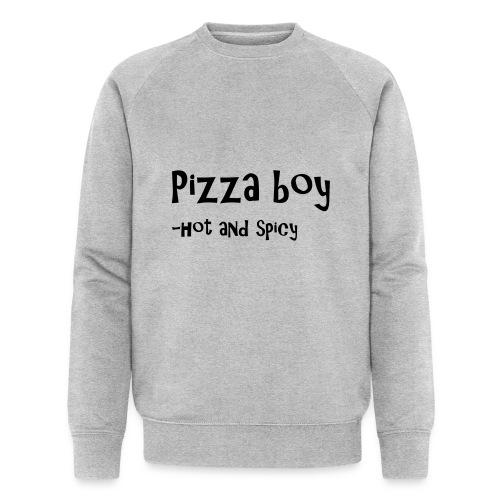 Pizza boy - Økologisk sweatshirt for menn
