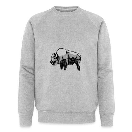 Chunky Bison - Männer Bio-Sweatshirt von Stanley & Stella
