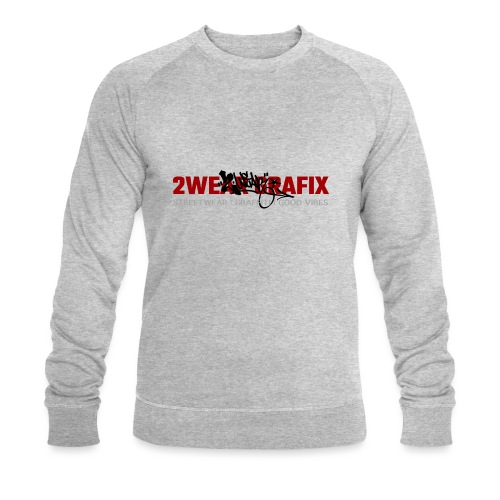 2wear Grafix Box Logo - Økologisk Stanley & Stella sweatshirt til herrer