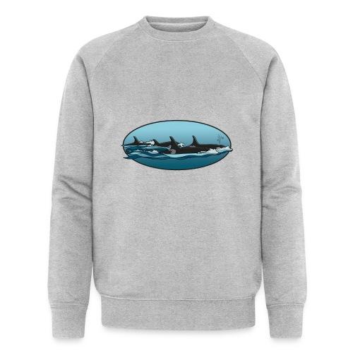 Orca - Mannen bio sweatshirt
