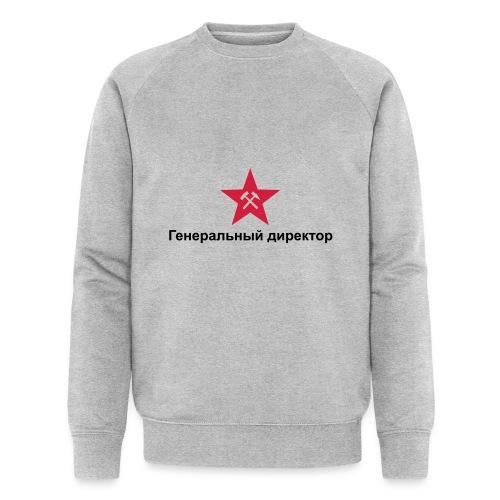 Generaldirektor01 - Männer Bio-Sweatshirt von Stanley & Stella