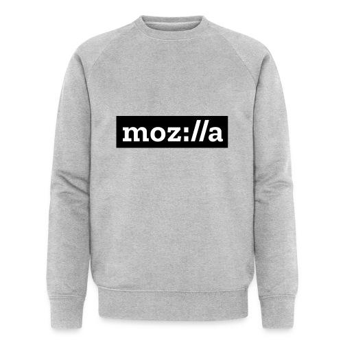 mozilla logo - Men's Organic Sweatshirt by Stanley & Stella