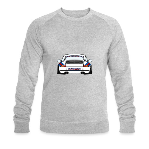 White Sports Car Maritini Livery - Men's Organic Sweatshirt by Stanley & Stella