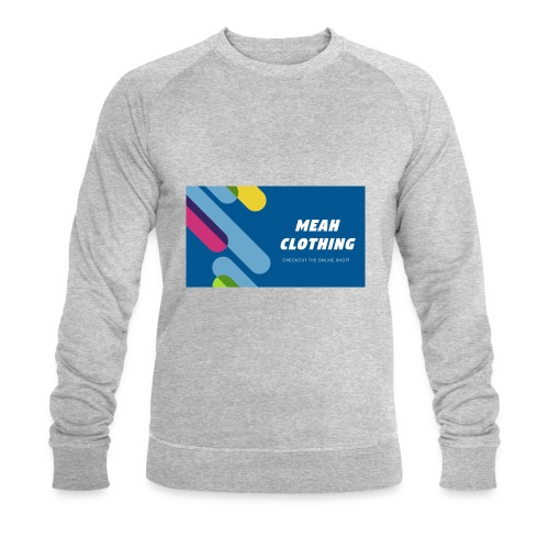 MEAH CLOTHING LOGO - Men's Organic Sweatshirt