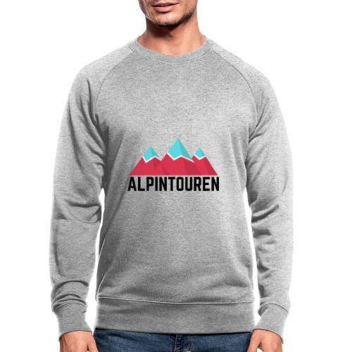 Alpintouren - Männer Bio-Sweatshirt