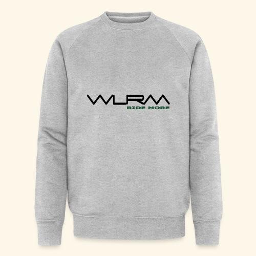WLRM Schriftzug black png - Männer Bio-Sweatshirt