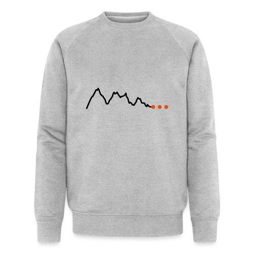Höhenprofil-Gebirge - Männer Bio-Sweatshirt von Stanley & Stella