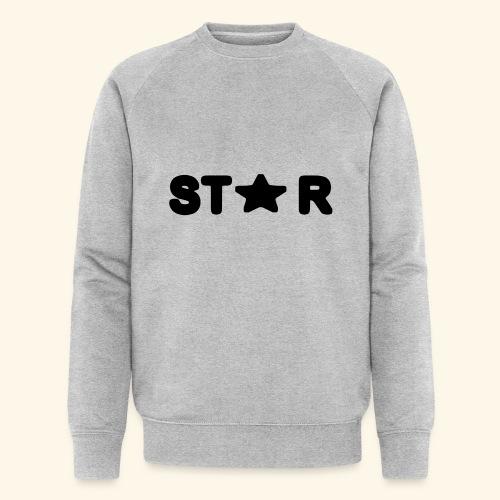 Star of Stars - Men's Organic Sweatshirt by Stanley & Stella