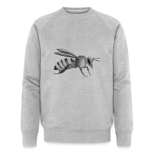 Biene - Männer Bio-Sweatshirt