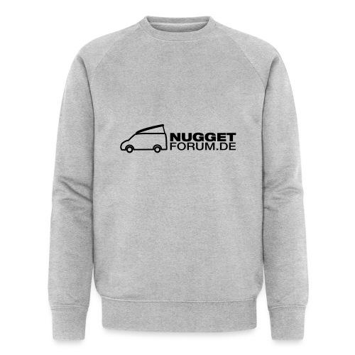 Nuggetforum Aufkleber Auf - Männer Bio-Sweatshirt