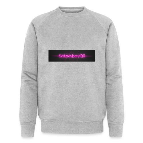 Satnavboy100 Shirt - Men's Organic Sweatshirt