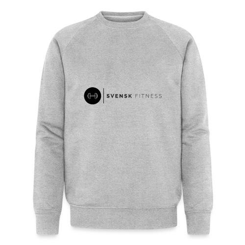 Svart logo - Ekologisk sweatshirt herr från Stanley & Stella