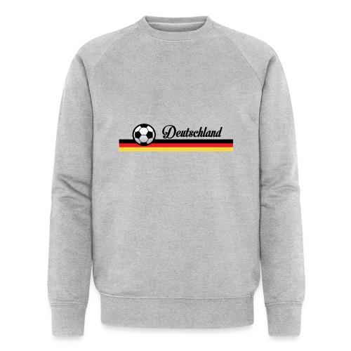 Fahne Deutschland - Mannen bio sweatshirt van Stanley & Stella