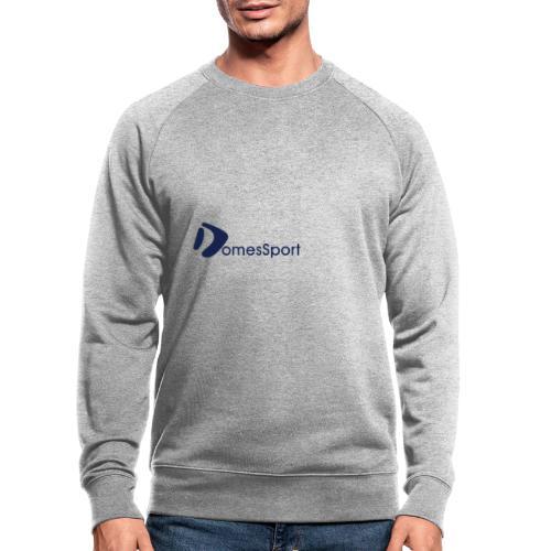 Logo DomesSport Blue noBg - Männer Bio-Sweatshirt