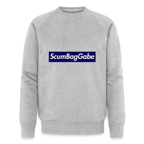 ScumBagGabe Blue XL Logo - Men's Organic Sweatshirt by Stanley & Stella