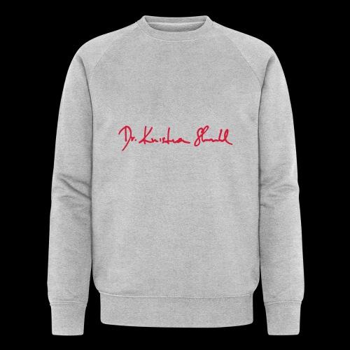 stuhl signatur - Männer Bio-Sweatshirt von Stanley & Stella