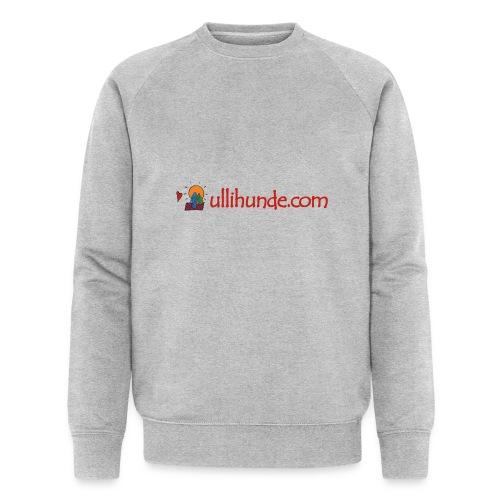Ullihunde Schriftzug mit Logo - Männer Bio-Sweatshirt