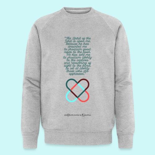freehearts scripture - Männer Bio-Sweatshirt von Stanley & Stella