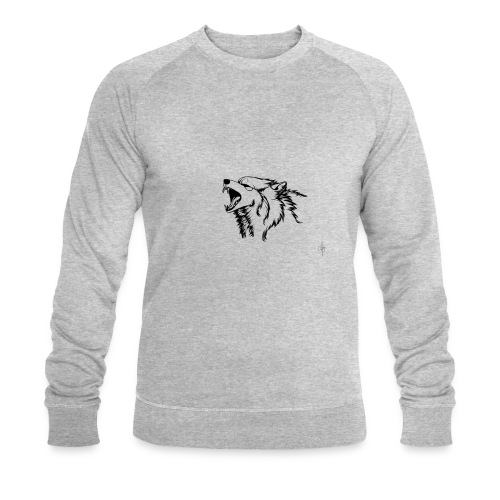 wolf - Ekologisk sweatshirt herr från Stanley & Stella