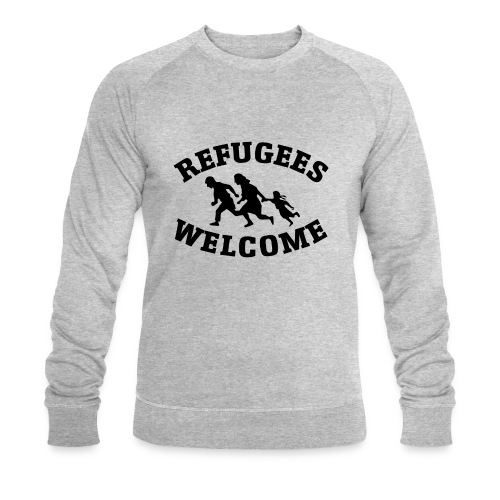 Refugees Welcome - Sweat-shirt bio Stanley & Stella Homme