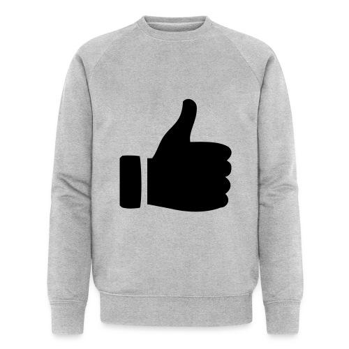 I like - gefällt mir! - Männer Bio-Sweatshirt