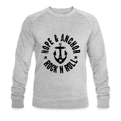 Hope & Anchor - Rock´n´Roll - Männer Bio-Sweatshirt von Stanley & Stella