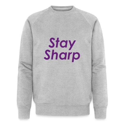 Stay Sharp - Felpa ecologica da uomo di Stanley & Stella