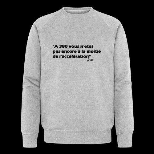 380 noir - Sweat-shirt bio Stanley & Stella Homme