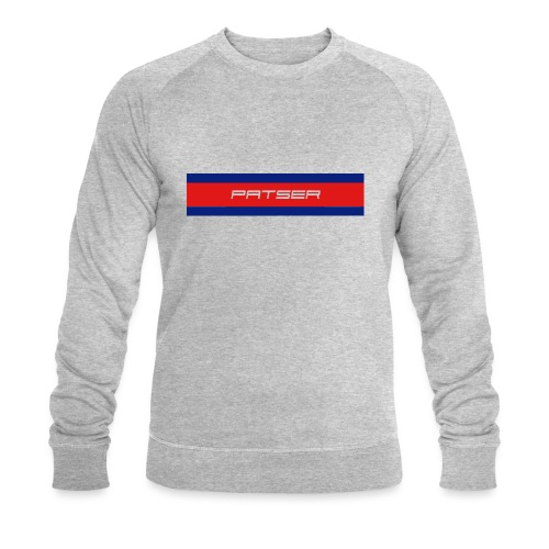 PATSER - Mannen bio sweatshirt