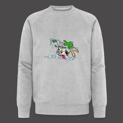 Wicked Washing Machine Wasmachine - Mannen bio sweatshirt