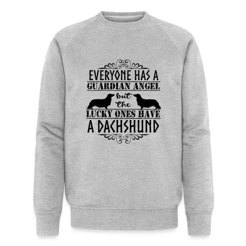 Dachshund LH Angel3 - Men's Organic Sweatshirt