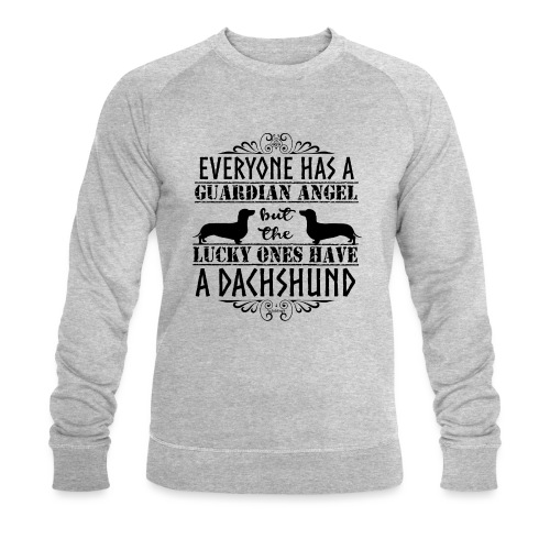 Dachshund SH Angels3 - Men's Organic Sweatshirt