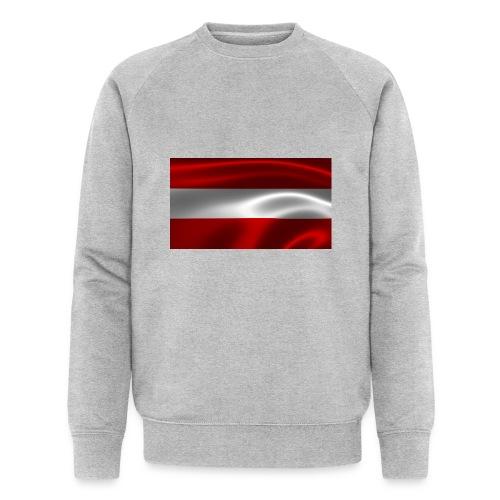 Austria I Love Austria - Männer Bio-Sweatshirt von Stanley & Stella