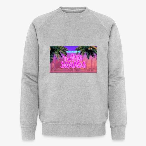 Welcome To Twitch Squads - Men's Organic Sweatshirt by Stanley & Stella