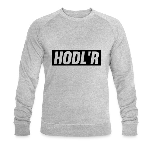 HODL'R - For the real crypto fans - Mannen bio sweatshirt