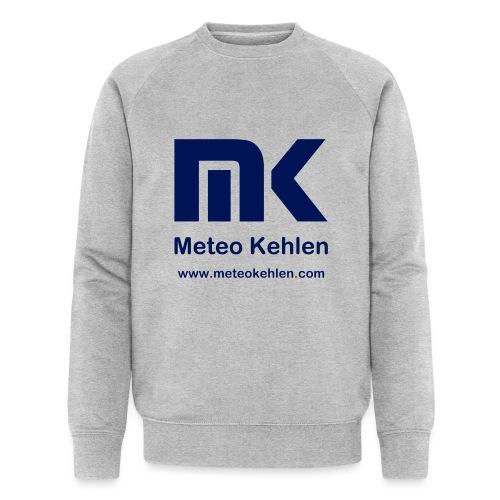 mk logo www. - Männer Bio-Sweatshirt von Stanley & Stella