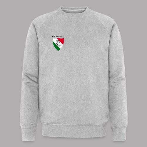 Wappen Struthonia (vorne) - Männer Bio-Sweatshirt